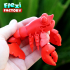 CUTE FLEXI PRINT-IN-PLACE Lobster image