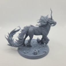 Picture of print of Kirin Majestic Idle pose (scale version)