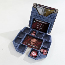 Gloomhaven Monster Stats and Damage Holder - ring