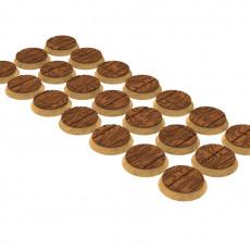 Round, oval, hexagoanal, square, rectangular wooden bases x150+