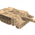 Easy to print tanks and modular military buildings from damocles kickstarter image