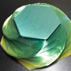 Picture of print of Hex Twist Bowl
