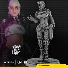 Lucy M - cyberpunk