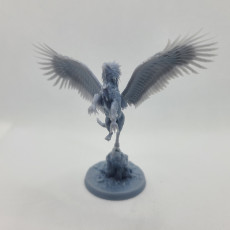 Picture of print of Hippogriff (Taking Flight)