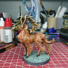 Picture of print of Stag, Majestic pose (3 antler variations)