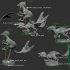 Feathered Raptor (group attack pose) image