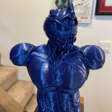 Picture of print of Guyver Bust Support Free