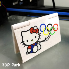 Business Card Case (kitty olympic)