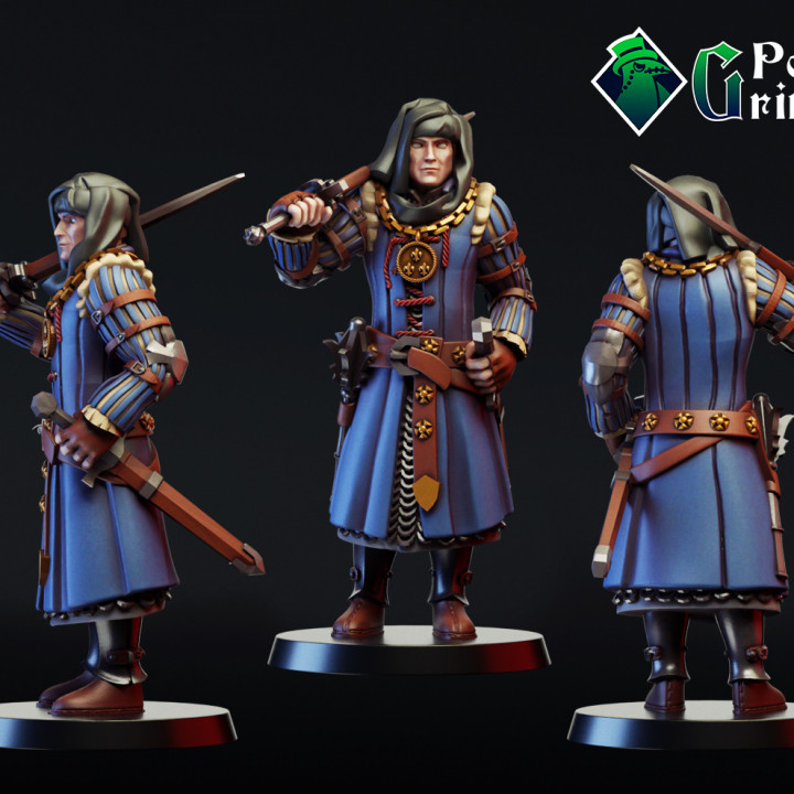 Warrior, soldier, commander, partisan and patriot