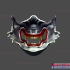 Ghost of Tsushima Oni Samurai Wolf Mask - Japanese Oni Mask image