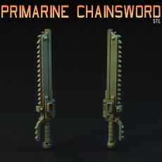 Primarine Chainsword