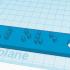 """""""Love"""" keychain in Braille image"""