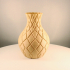 "Diamond Vase, ""Vase Mode"" print image"