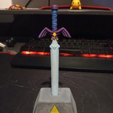 Picture of print of Zelda Master Sword Pen