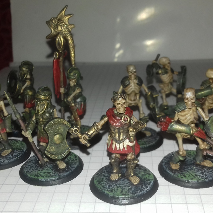 Skeleton Horde for Dungeons and Dragons !FREE!