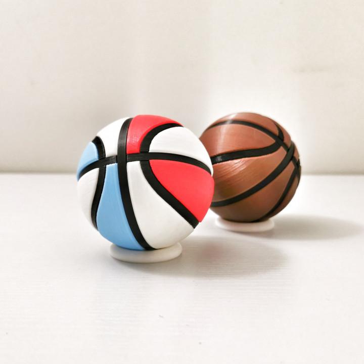 Basketball K-Pin Puzzle