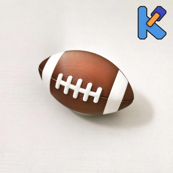 American Football K-Pin Puzzle