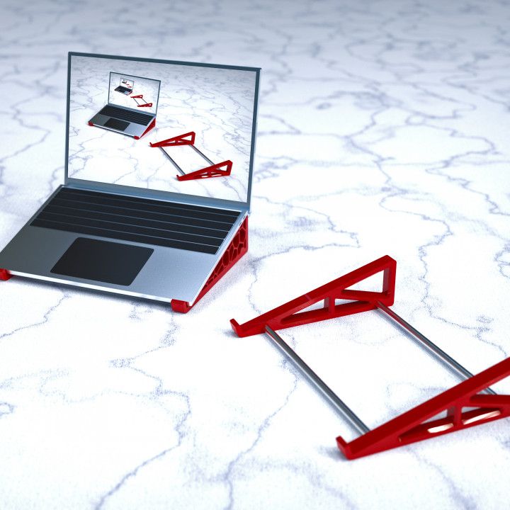 (Voronoi) Laptop Stand