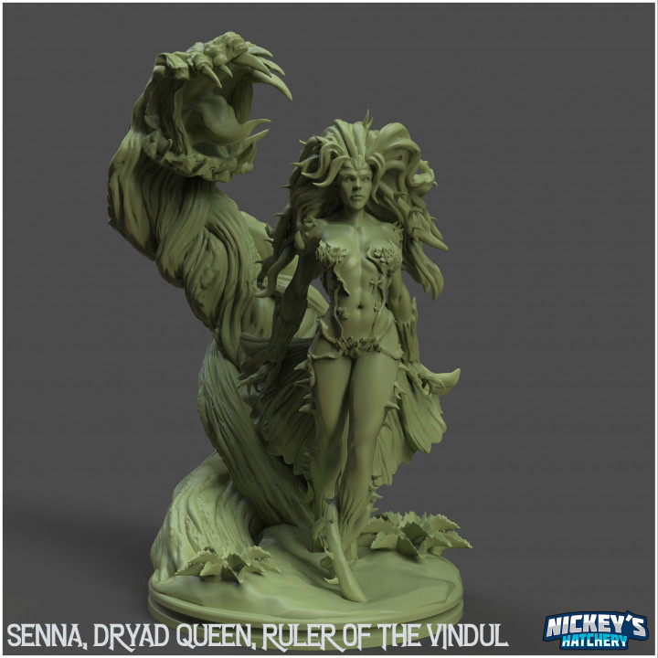Senna, Dryad Queen, Ruler of the Vindul's Cover