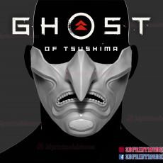Ghost of Tsushima - Japanese Samurai Oni Mask