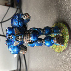 Picture of print of Starcraft Marines