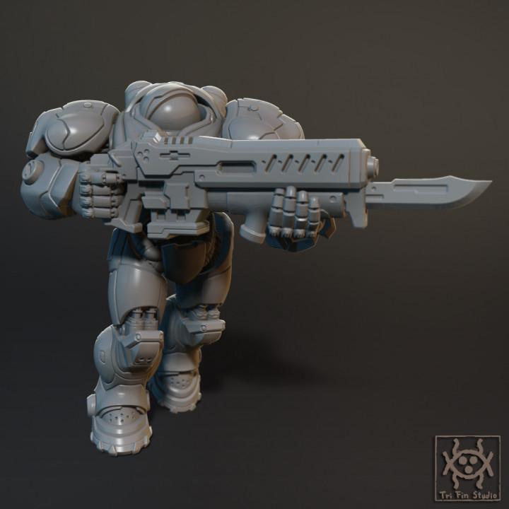 Starcraft Marines