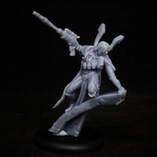 Picture of print of Amish Space Elf scout 2 support ready
