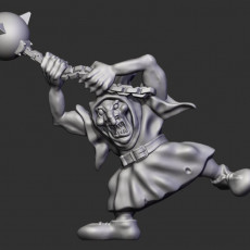 Goblin with ball and chain