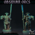 The Obsidian Orc Warband - Pre-Supported image