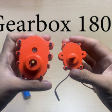 Gearbox motor 180