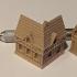 Wee Burgh Medieval Town or City (timberframe set01) image