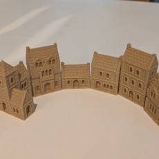 Wee Burgh Medieval Town or City (stone set01&02)