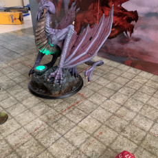 Picture of print of Illithid Dragon