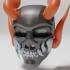 Cyber Oni Skull Mask image