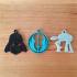 Star Wars Keyring Keychain image