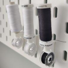 Bobbin and thread holder for Ikea Skadis (Sewing)