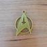 Star Trek keyring keychain image