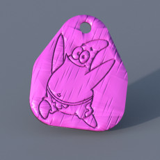 Patrick keychain (Spongebob)