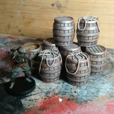 Dark Souls Boardgame Barrels