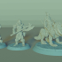 Orc Horde Set, 9 Miniatures, Dungeons and Dragons !FREE! image