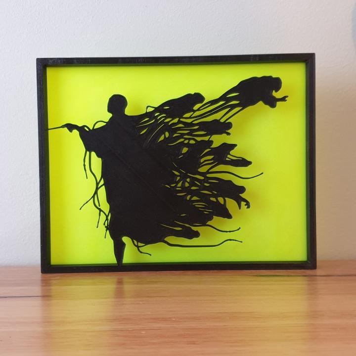 Voldemort Dementor Harry Potter Silhouette Art