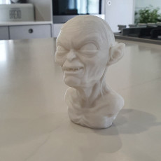 Picture of print of GOLUM BUST Support Free This print has been uploaded by patrick barry