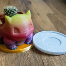 Small Saucer (Bulbasaur Planter Plate)