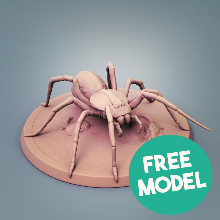 Free Giant Spider