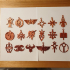 Warhammer 40K keychains (18 factions) image