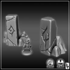Stone Demon Symbols