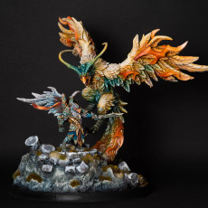 Picture of print of Malor on Arcanix - Eye-Cult Gryphkin Hero on Phoenix