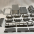 5070 Industrial Complex Walkways print image