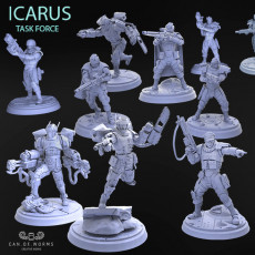 ICARUS TASK FORCE SOLDIERS