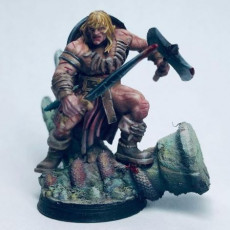 Picture of print of Barbarian Reavers 32mm Pre-Supported